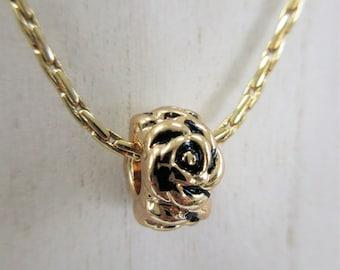 Gold Snake chain,Charms,Peace-Love-Joy,Star,Rose Charm,Pineapple,Slide charm,Rose Ball,Pineapple,Gold lobster claw,Gold Chain Slide Pendant,