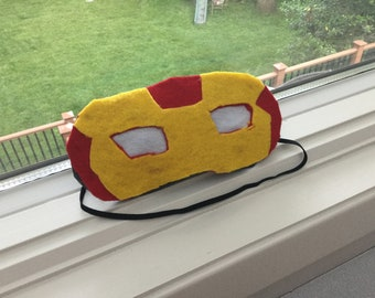 Iron man superhero sleep mask