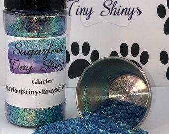 Glitter-Glacier (polyester glitter, plastic glitter, glitter, embellishments, crafts, scrapbooking, tumblers, nail art)