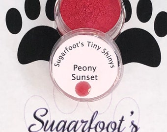 Pigment-Peony Sunset (pigment, mica powder, epoxy, resin, color, embellishments, crafts, scrapbooking, tumblers, nail art)
