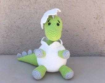 Crochet Pattern Amigurumi Baby Din - Patron ganchillo Amigurumi Baby Din