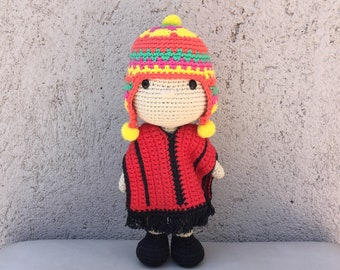 Crochet Pattern Amigurumi Coyita Amaru PDF - Patrón Ganchillo Amigurumi Coyita Amaru PDF