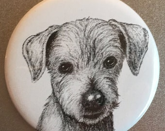 Dog Drawing Magnet