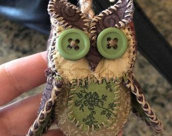 Owl Plush Keychain