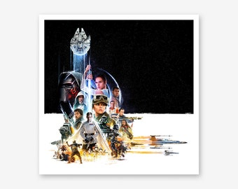 Star Wars - Rogue One Framed Print