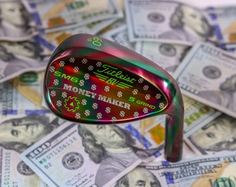 Sick Sticks Golf Titleist SM6 Rainbow Money Maker Golf Wedge