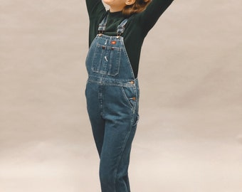 06cb80366c7 Vintage 90s dickies overalls denim workwear woman s size small XS