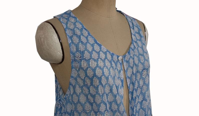 Cotton Kimono for women\u2019s Dressing Gown Beach Cover ups Block print kimono Bridesmaid Gifts