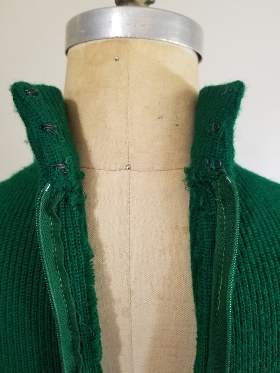 S| Green Colorful Sweater Dress Combo - image 9