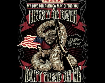 Liberty or Death, Don't Tread On Me Shirt