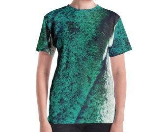 Green Teal Water Cool Summer Palette Women's T-shirt instagram urban mood cool shirt graphic trendy tshirt woman