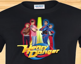 """Henry Danger """"Dual Identities""""  CHILD Custom T-Shirt - Available in Multiple Sizes & Colors"""