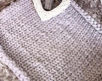 Chunky Merino Wool Throws