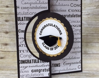 Handmade (Personalized) Graduation Card