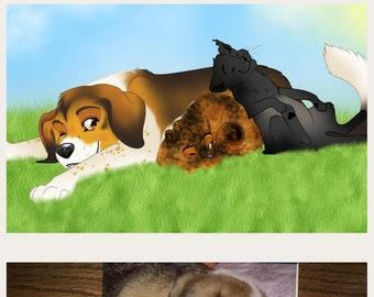 Pet Portrait Series ~ Full Body