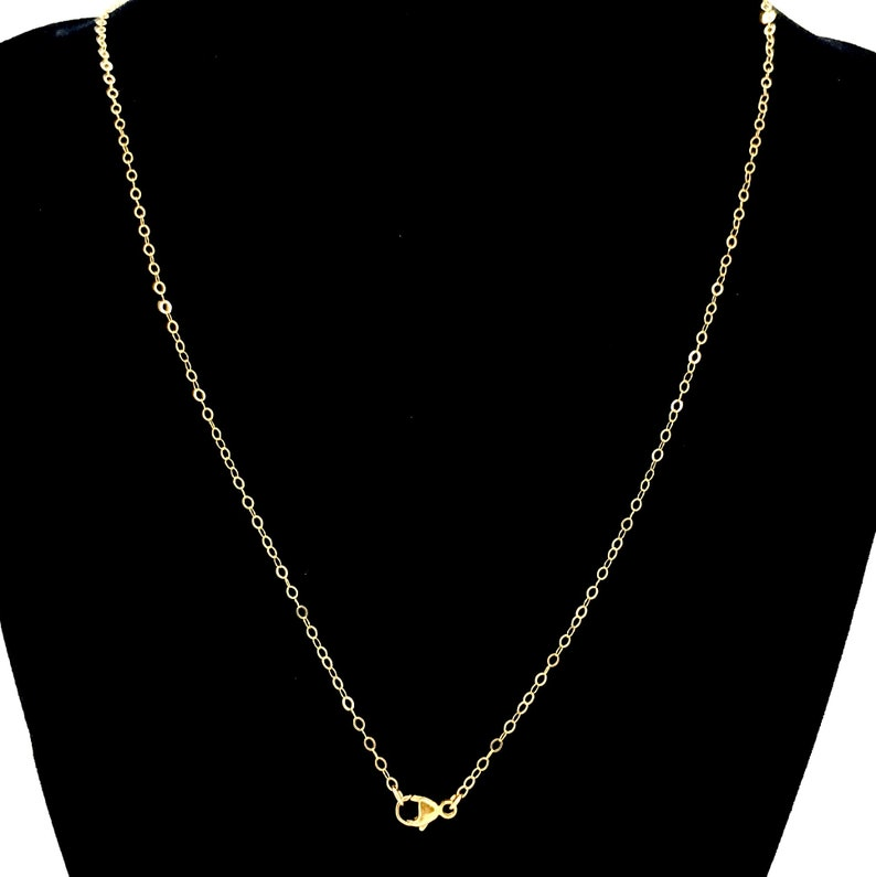 Elegant Jewelry Matinee Religious Necklace Dainty 14k Jewelry Vintage Layering Necklaces Mary /& Cross Gold Filled Necklace