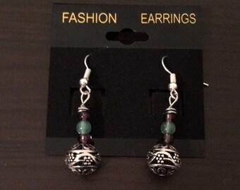 Silver Blossom Earrings