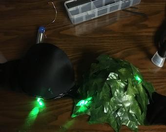 Led leaf rave top