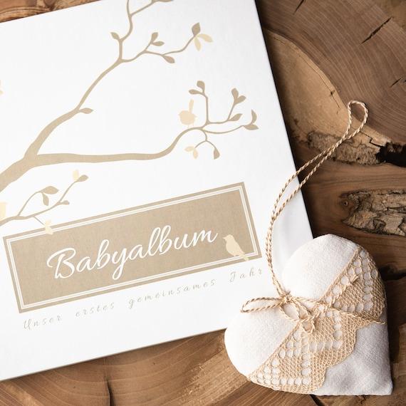 Fotobuch // Photoalb.. Album /& Erinnerungsbuch Name incl Gebunden zum Einkleben /& Eintragen unser Baby alles-meine.de GmbH Erinnerungsalbum // Babytagebuch // Fotoalbum