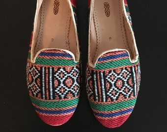 Moroccan Hand Woven Shoes