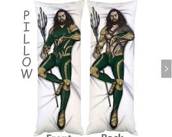 Aquaman Jason Momoa Body Hot Pillow Case Dakimakura NEW