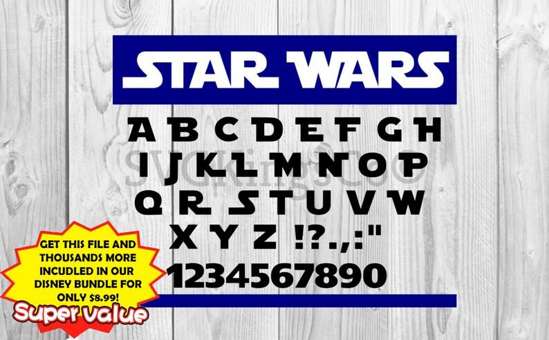Star wars font svg, star wars svg, star wars font design, disney svg files,  files for silhouette, files for cricut,svg star wars, starwars