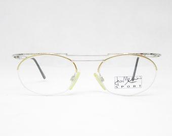 JO MEURER Sport Mod. 552 glasses, vintage eyeglass frame from the 80s/90s, gift for boyfriend, vintage rarity, trend, hipster, gold