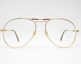Glasses, eyewear frame by Actuell Couture Mod. 309, Made in Germany, vintage eyeglass frame from the 80s, gift for partner, cult