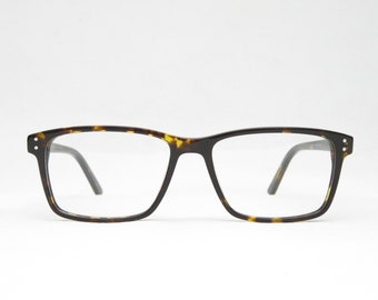 Tortoise Plastic Glasses for Men, Gift for Him, Glide Glasses, Sunglasses, Retro 70s 80s, Trend, Rectangular, Vintage