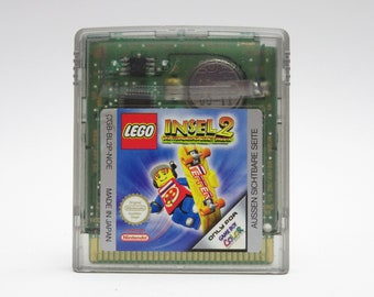 LEGO ISLAND 2 Game Boy Color Game Nintendo Gameboy Vintage 90s Gift Girlfriend Collectible Trend Console Game Boys Girls