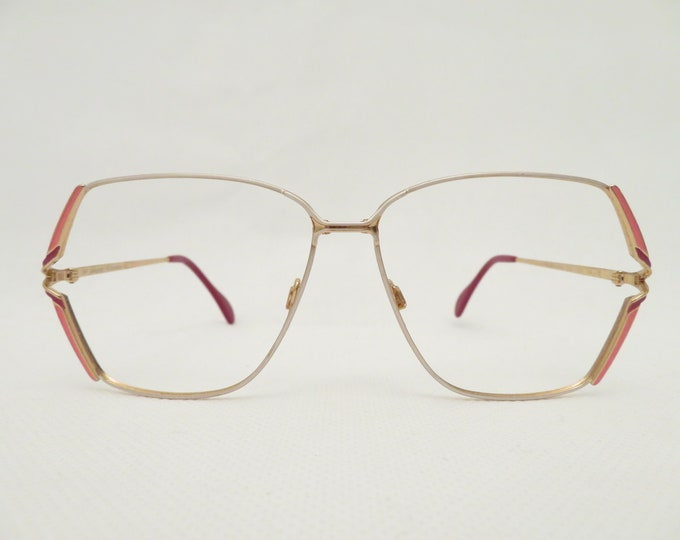 Vintage OWP Women's Glasses, 80s Eyewear Frame, Plastic Frame, Gift for Her, Fashion Accessory, Occhiali, Lunettes