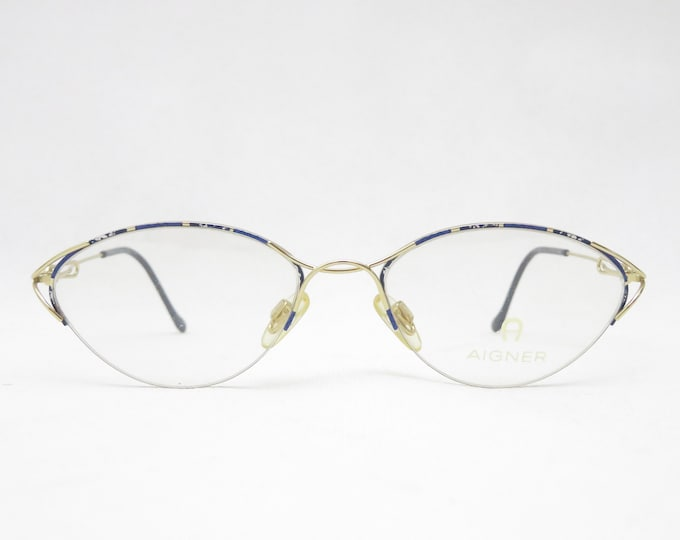ETIENNE AIGNER glasses, 1990s frame, Nylor-Halbrand glasses, eyewear frame for women, gift for women, trend