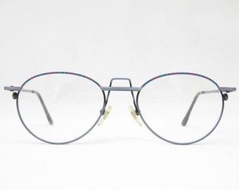 Vintage Glasses PRESTIGE Mod. 2021, Made in Germany, Glasses Women's 80s Oval, Glasses Vintage, Eyeglass Frames, Gift for Her, Clear Glass