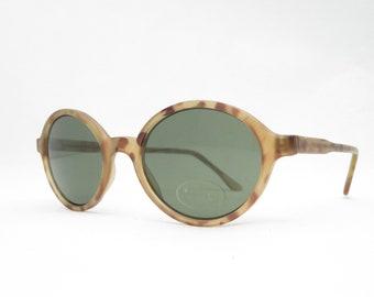 Vintage women's sunglasses from the 90s, glasses 90s, eyeglasses frame with tortoiseshell pattern, glasses oval retro, gift for women