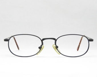 Glasses for men and women of the 90s, eyes and more, black, plain, gift NEW NOS, discreet, Germany, optician quality