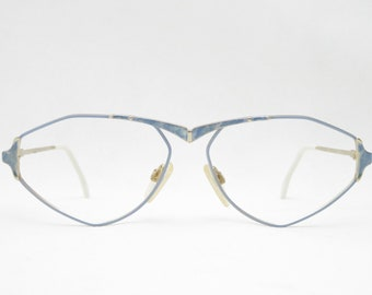 8d86cabff2b LICEFA rodier M170 glasses vintage eyeglass frame vintage eyeglass eyewear  vintage glasses gold Blue 70s women West Germany Trend