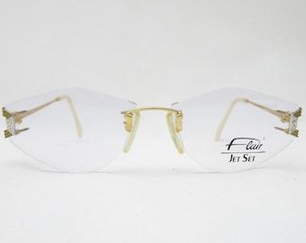 79547a279e Vintage glasses by flair Jet Set mod. 784
