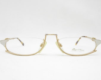 ZOLLITSCH MARITIM 8597 glasses frame men eyewear for men frame Vintage accessories half rim glasses glasses Vintage gold GP23ct reading glasses