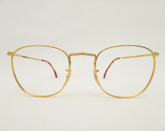 Vintage Panto Scorpio Optics Women's Glasses, Eyeglass Frame from the 80s, Metal Mount, Gift for Her, Occhiali, Lunettes, Gafas