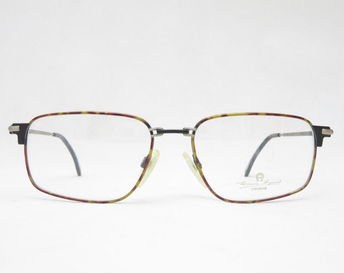 Designer glasses, ETIENNE AIGNER mod. EA86, vintage eyeglass frame from the 80s, metal frame, gift for men, hipster, trend