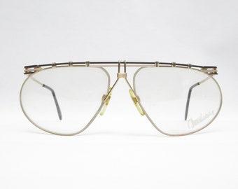 Vintage Glasses YABI SPIRIT mod. Duschan 1252, Made in West Germany, Vintage Eyeglass Frame 70s, Gift for Men, Rarity, Trend