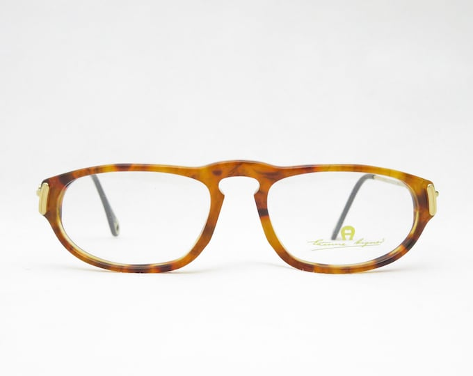 Vintage glasses, ETIENNE AIGNER mod. EA32, Made in Germany, eyewear frame from the 80s, glasses frame ladies, gift for her, trend