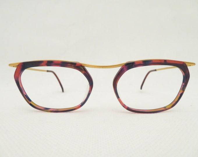 Vintage Missoni Italy Women's Glasses, E80s Glasses, Plastic Metal Version, Gift for You, Occhiali, Lunettes