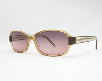 Vintage Sonnenbrille Brille, vintage sunglasses 90s TOM TAILOR Eyewear, purple lens glasses, color lens glasses, womens sunglasses, Trend