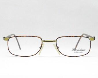 True Vintage Glasses for Men and Women, 80s, Metal Glasses, Gift for Boyfriend, NOS NEW, Optician Glasses, Brown, Black