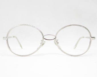 Vintage Glasses WK 50s/60s for Women and Men, Very Rare, Glasses Rarity, Antique Eyewear Mount, Oval, Gift for Him and Her