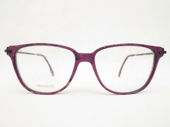 099ee8aa06 MENIA 258 ladies eyeglass frame glasses from the 80s NOS