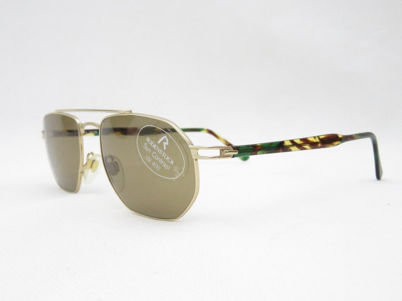 Sunglasses Vintage RODENSTOCK Glasses 70s glasses frame eyeglasses bifocal aviator frames sunglasses men women frame vintage accessories