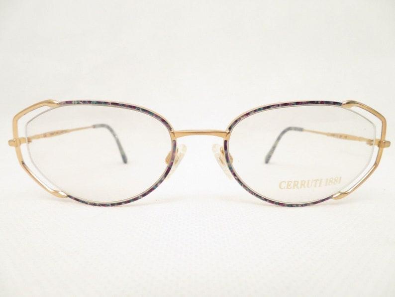 59bd6b2919db Vintage Glasses CERRUTI 1881 mod. C1852 eyeglass frames 80s | Etsy