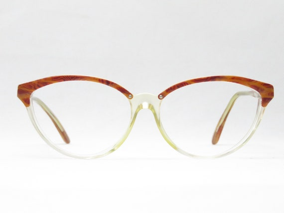 MAGGY ROUFF diffusion / vintage glasses / 80s eyeg